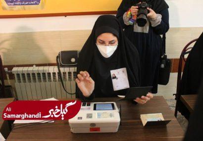 گزارش تصویری حضور مردم رشت در انتخابات ( قسمت اول)