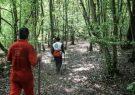 امدادگران گیلان خانواده گمشده در جنگل های رضوانشهر را نجات دادند